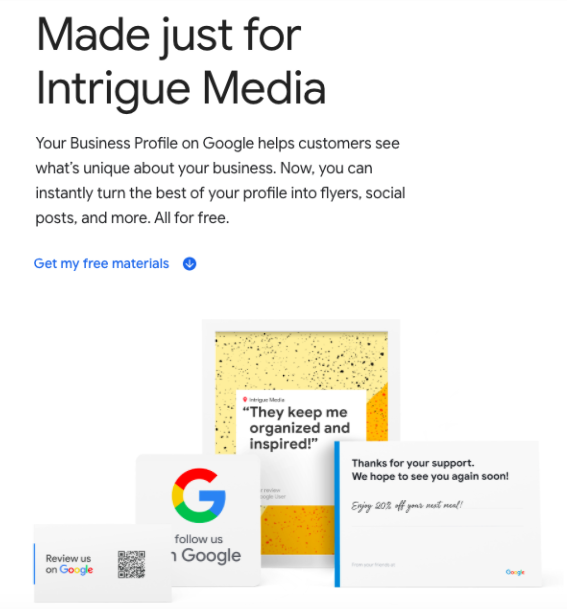 Google Marketing Kit